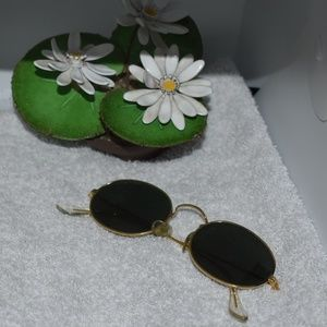 Antique 1950s B&L Ray-Ban GT Metal Sunglasses